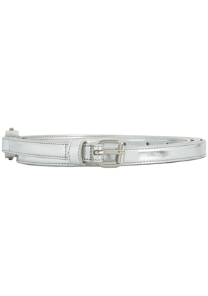 Alyx metallic buckle belt - Grey