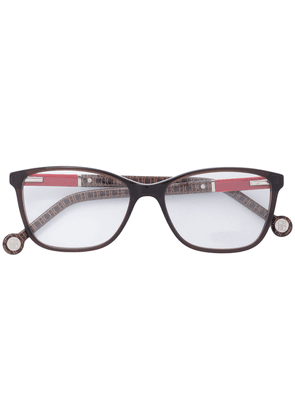 Ch Carolina Herrera rectangular shape glasses - Brown