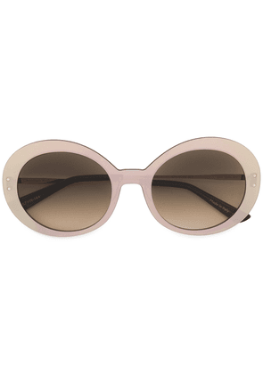 Christian Roth Eyewear round frames sunglasses - Brown