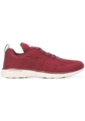 Apl woven lace-up sneakers - Red