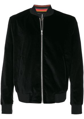 Paul Smith feather print lining bomber - Black