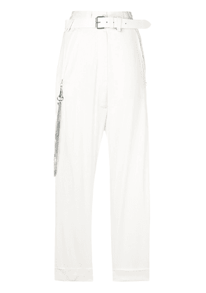 Alyx belted chain trousers - Nude & Neutrals
