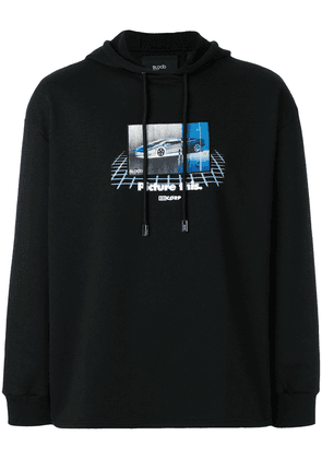 Blood Brother Picture This graphic print hoody - Black