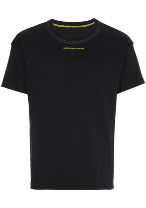 Alyx Reversible t shirt with sunset print - Black