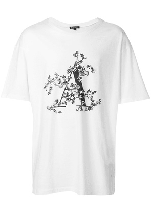 Ann Demeulemeester typography T-shirt - White