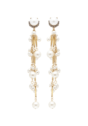 'Pretty Woman' faux pearl drop earrings