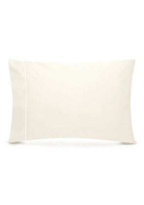 Contrast border pillowcase set - Ivory