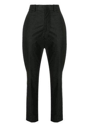 Isabel Marant high-waisted cropped trousers - Black