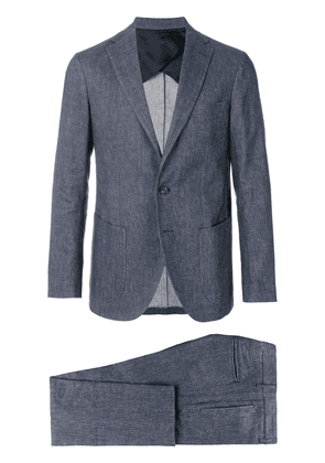 Doppiaa two piece suit - Blue