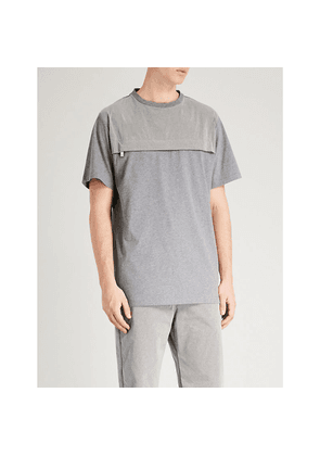 Mystic pocketed cotton-jersey T-shirt