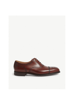 Yeovil leather brogues
