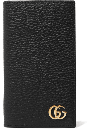 Gucci - Gg Marmont Textured-leather Iphone 7 And 8 Case - Black