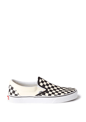Classic Slip-On Shoes - White