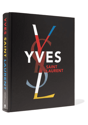 Abrams - Yves Saint Laurent By Farid Chenoune And Florence Muller Handcover Book - Black