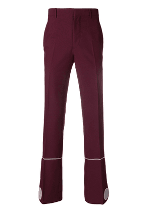 Calvin Klein 205W39nyc marching band trousers - Pink & Purple