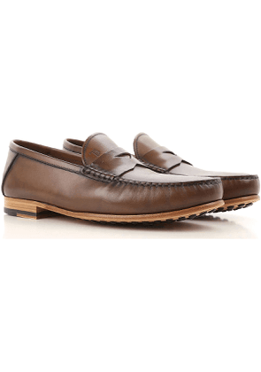 Tods Loafers for Men On Sale, Brown, Leather, 2017, 10 6 6.5 7 7.5 8 8.5 9