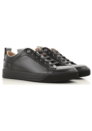 Lanvin Sneakers for Men On Sale, Black, Leather, 2017, 6 7 8