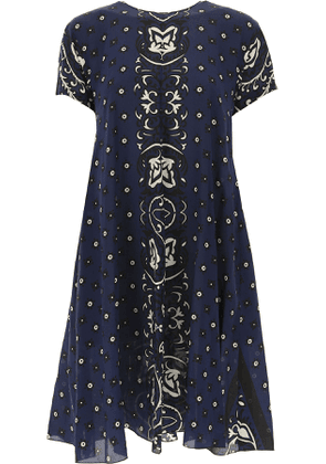 Valentino Dress for Women, Evening Cocktail Party On Sale, Red Valentino, Cobalt, Silk, 2017, 10 8