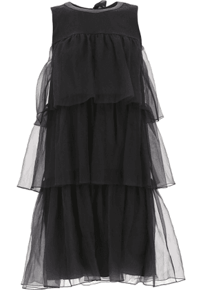 Brunello Cucinelli Dress for Women, Evening Cocktail Party On Sale, Black, Silk, 2017, 10 8