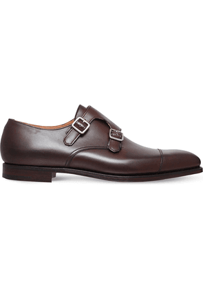 Lowndes leather monk shoes