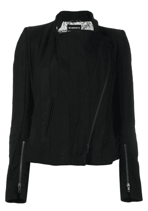 Ann Demeulemeester Blanche off centre zip jacket - Black
