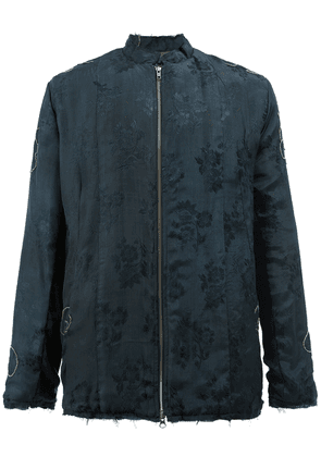 By Walid floral jacquard jacket - Blue