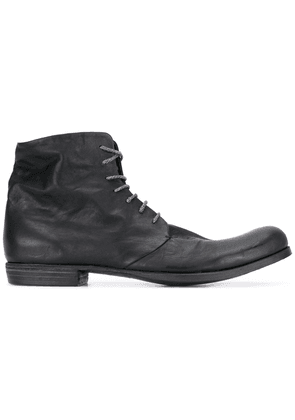 A Diciannoveventitre lace-up boots - Black