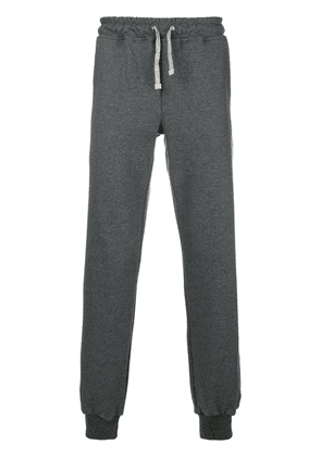 Eleventy drawstring track trousers - Grey