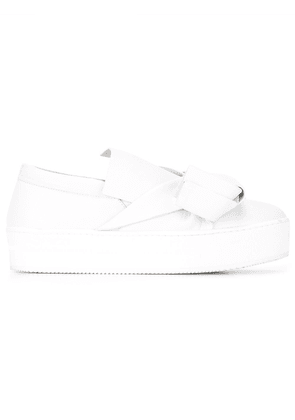 No21 knot detail sneakers - White