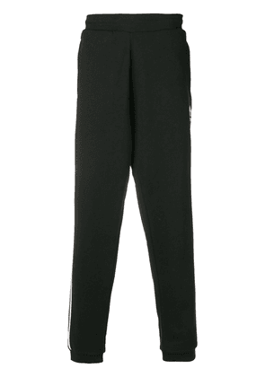 Adidas three stripe joggers - Black
