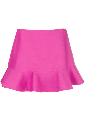 Valentino flared mini skirt - Pink & Purple