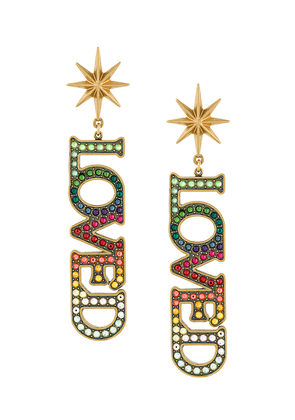 Gucci Loved earrings - Multicolour