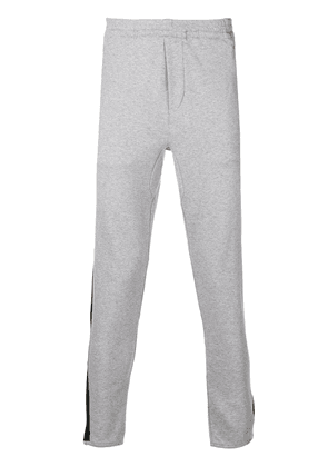 Polo Ralph Lauren stripe detail sweatpants - Grey