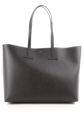Tom Ford Tote Bag On Sale, Black, Leather, 2017