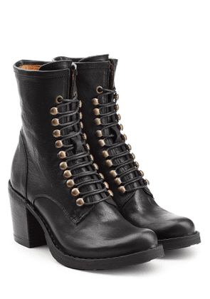 Fiorentini + Baker Leather Lace-Up Boots