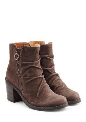 Fiorentini + Baker Suede Ankle Boots