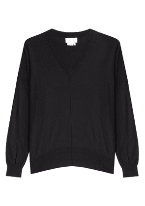 DKNY Oversize Pullover with Wool