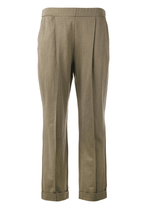 Dorothee Schumacher slouch trousers - Brown