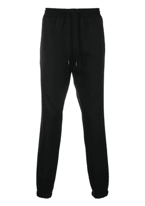 Saint Laurent drawstring fitted trousers - Black
