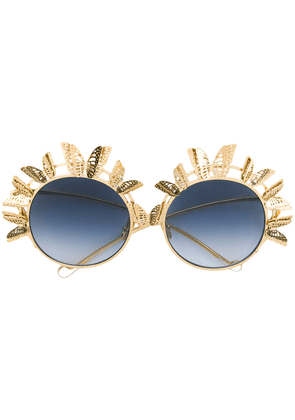 Anna Karin Karlsson The Butterfly sunglasses - Metallic