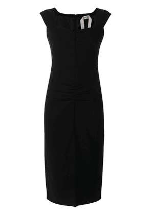 No21 crepe dress - Black