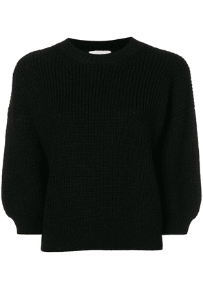3.1 Phillip Lim ribbed crew neck sweater - Black