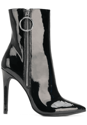 Danielle Guizio side zip ankle boots - Black