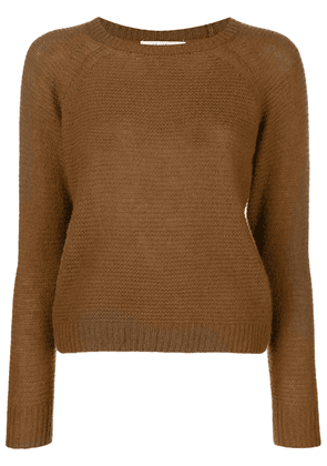 Max Mara ribbed sweater - Brown