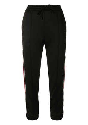 Gucci cropped track pants - Black