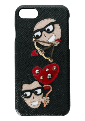 Dauphine Calfskin Phone Case With Patches