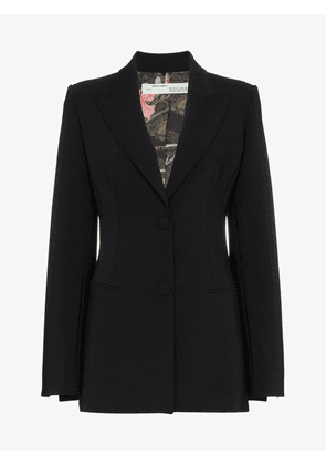 Off-White back logo blazer with cinched waist