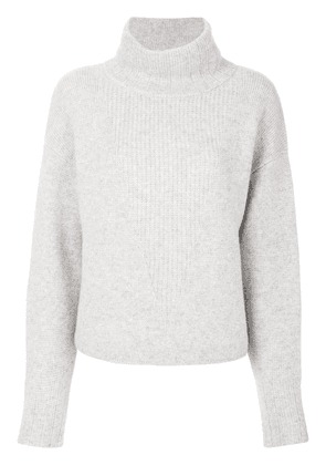 Le Kasha cashmere roll-neck jumper - Grey