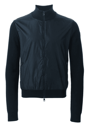 Moncler two-tone cardigan - Blue