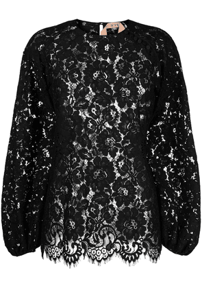 No21 lace blouse - Black